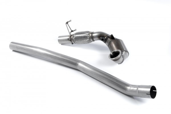 Mk7.5 R 2.0 TSI 310PS '17 to '19 -  Large Bore Downpipe and Hi-Flow Sports Cat - SSXAU423