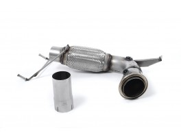 (F56) Cooper 1.5T '14 to '19 -  Large-bore Downpipe and De-cat - SSXM419